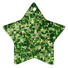 Crops Kansas Star Ornament (Two Sides)