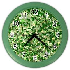 Crops Kansas Color Wall Clocks