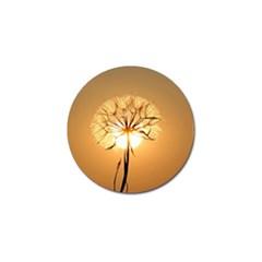 Dandelion Sun Dew Water Plants Golf Ball Marker