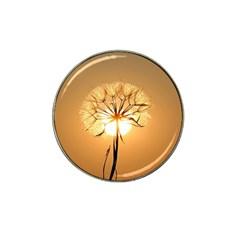 Dandelion Sun Dew Water Plants Hat Clip Ball Marker (10 pack)