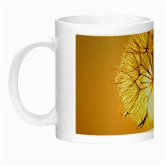 Dandelion Sun Dew Water Plants Night Luminous Mugs