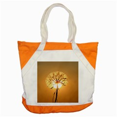 Dandelion Sun Dew Water Plants Accent Tote Bag