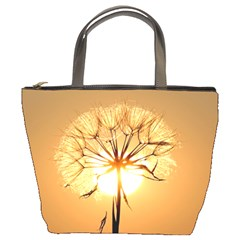 Dandelion Sun Dew Water Plants Bucket Bags