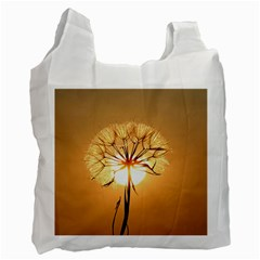 Dandelion Sun Dew Water Plants Recycle Bag (One Side)