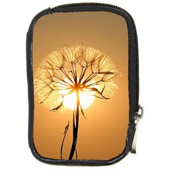 Dandelion Sun Dew Water Plants Compact Camera Cases