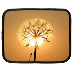 Dandelion Sun Dew Water Plants Netbook Case (XXL)