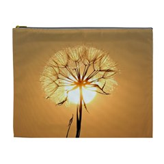 Dandelion Sun Dew Water Plants Cosmetic Bag (xl)