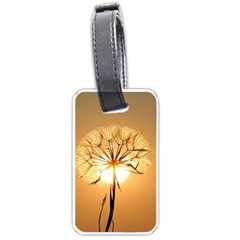 Dandelion Sun Dew Water Plants Luggage Tags (Two Sides)