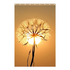 Dandelion Sun Dew Water Plants Shower Curtain 48  x 72  (Small)