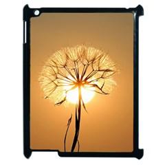 Dandelion Sun Dew Water Plants Apple iPad 2 Case (Black)