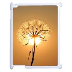 Dandelion Sun Dew Water Plants Apple iPad 2 Case (White)