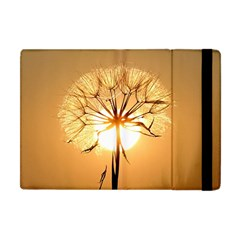 Dandelion Sun Dew Water Plants Apple Ipad Mini Flip Case
