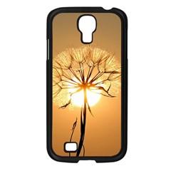 Dandelion Sun Dew Water Plants Samsung Galaxy S4 I9500/ I9505 Case (Black)