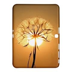 Dandelion Sun Dew Water Plants Samsung Galaxy Tab 4 (10.1 ) Hardshell Case