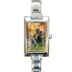 Decoration Decorative Art Artwork Rectangle Italian Charm Watch