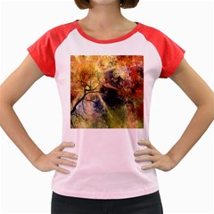 Decoration Decorative Art Artwork Women s Cap Sleeve T-Shirt