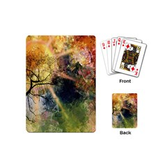 Decoration Decorative Art Artwork Playing Cards (Mini)