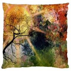 Decoration Decorative Art Artwork Large Cushion Case (One Side)