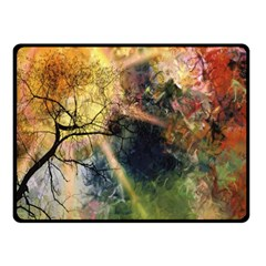 Decoration Decorative Art Artwork Double Sided Fleece Blanket (small)