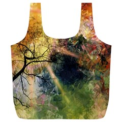 Decoration Decorative Art Artwork Full Print Recycle Bags (L)