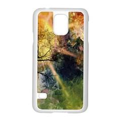 Decoration Decorative Art Artwork Samsung Galaxy S5 Case (White)
