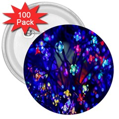 Decorative Flower Shaped Led Lights 3  Buttons (100 pack)