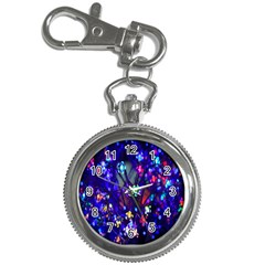 Decorative Flower Shaped Led Lights Key Chain Watches