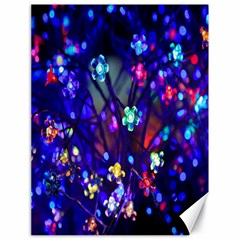 Decorative Flower Shaped Led Lights Canvas 18  x 24