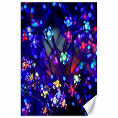 Decorative Flower Shaped Led Lights Canvas 24  x 36