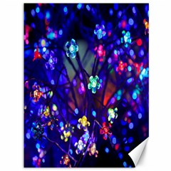 Decorative Flower Shaped Led Lights Canvas 36  x 48