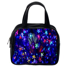 Decorative Flower Shaped Led Lights Classic Handbags (One Side)