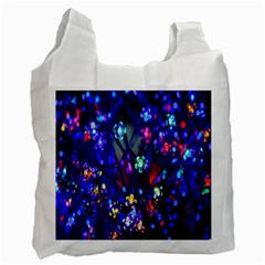 Decorative Flower Shaped Led Lights Recycle Bag (Two Side)