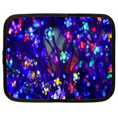 Decorative Flower Shaped Led Lights Netbook Case (XL)