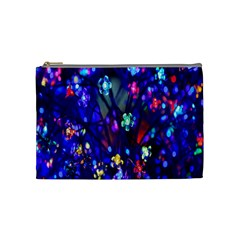 Decorative Flower Shaped Led Lights Cosmetic Bag (Medium)