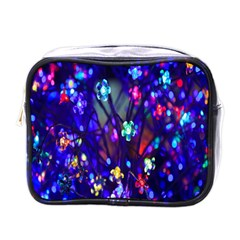 Decorative Flower Shaped Led Lights Mini Toiletries Bags