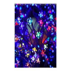 Decorative Flower Shaped Led Lights Shower Curtain 48  x 72  (Small)