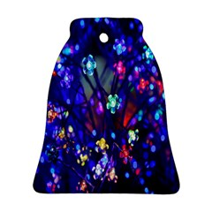 Decorative Flower Shaped Led Lights Ornament (bell)