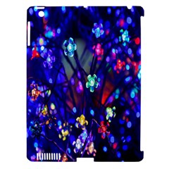 Decorative Flower Shaped Led Lights Apple Ipad 3/4 Hardshell Case (compatible With Smart Cover)