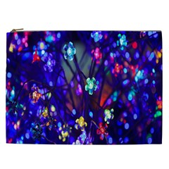 Decorative Flower Shaped Led Lights Cosmetic Bag (xxl)