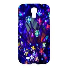 Decorative Flower Shaped Led Lights Samsung Galaxy S4 I9500/i9505 Hardshell Case