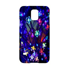 Decorative Flower Shaped Led Lights Samsung Galaxy S5 Hardshell Case