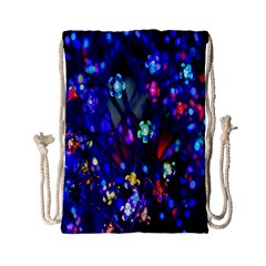 Decorative Flower Shaped Led Lights Drawstring Bag (Small)