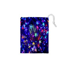 Decorative Flower Shaped Led Lights Drawstring Pouches (xs)
