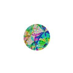 Design Background Concept Fractal 1  Mini Magnets