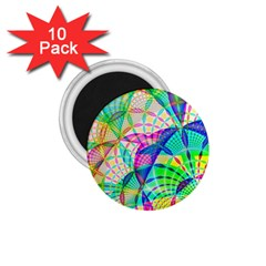 Design Background Concept Fractal 1.75  Magnets (10 pack)