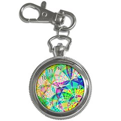 Design Background Concept Fractal Key Chain Watches