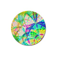 Design Background Concept Fractal Magnet 3  (Round)