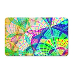 Design Background Concept Fractal Magnet (Rectangular)