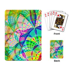 Design Background Concept Fractal Playing Card
