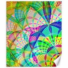 Design Background Concept Fractal Canvas 8  x 10